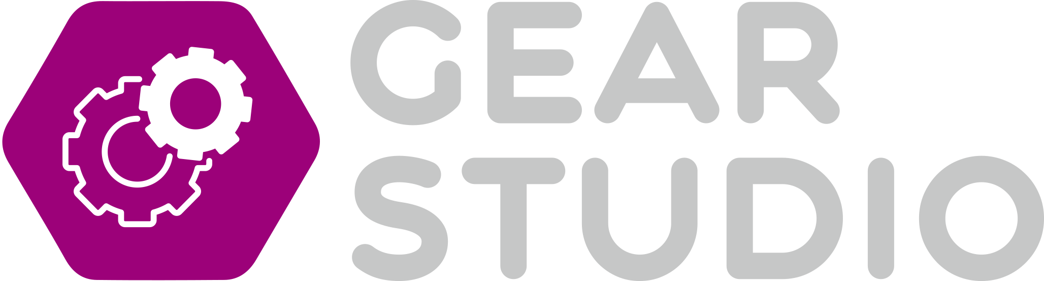 GearStudio logo purple cloud studio